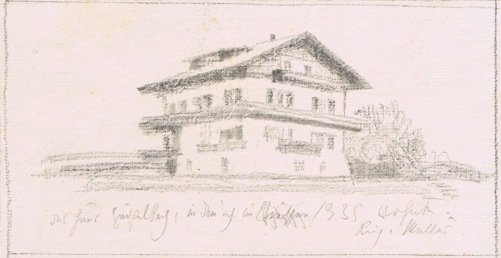 Müller, Richard (1874-1954),Das Haus